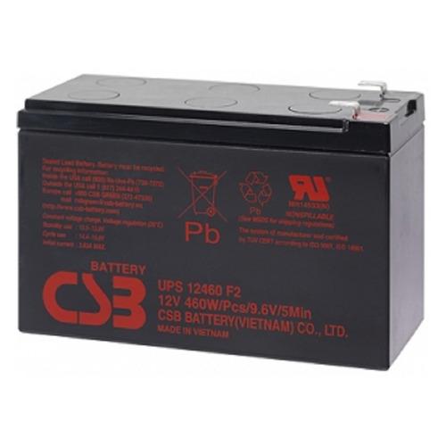 Фото - Аккумуляторная батарея для ИБП CSB UPS12460 F2 12В, 9Ач батарея для ибп apc rbc34 6в 9ач