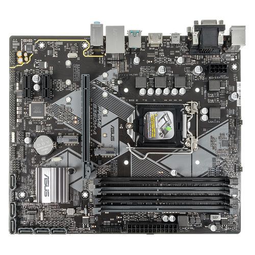 Материнская плата ASUS PRIME B360M-A, LGA 1151v2, Intel B360, mATX, Ret цена и фото