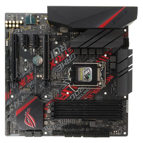 Материнская плата ASUS ROG STRIX B360-G GAMING, LGA 1151v2, Intel B360, mATX, Ret цена и фото
