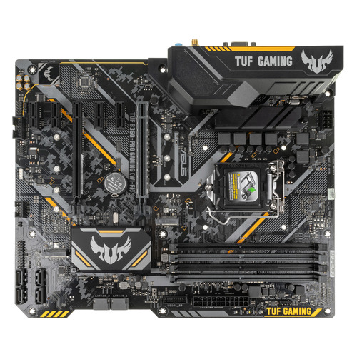 Материнская плата ASUS TUF B360-PRO GAMING (WI-FI), LGA 1151v2, Intel B360, ATX, Ret цена и фото