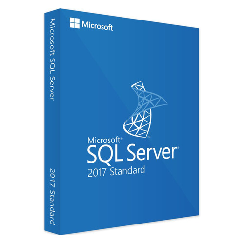 Операционная система MICROSOFT SQL Server 2017 Std 10 Clt, 64 bit, Eng, BOX, DVD [228-11033] dl580g3 server dvd drive 268795 001