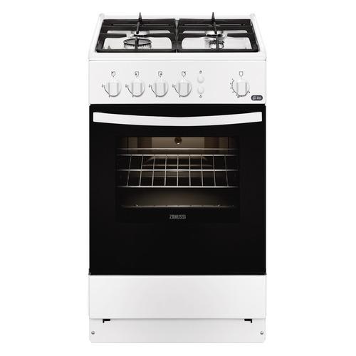 лучшая цена Газовая плита ZANUSSI ZCG9510R1W, газовая духовка, белый