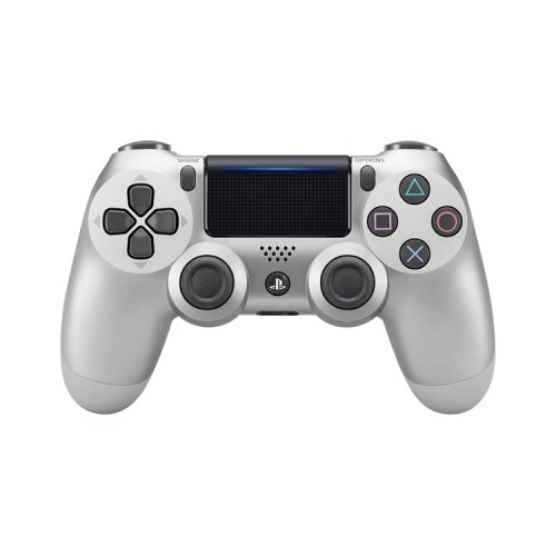 Геймпад Беспроводной SONY Dualshock 4 v2 (CUH-ZCT2E), для PlayStation 4, серебристый [ps719933564] адаптер playstation dualshock 4 usb wireless черный