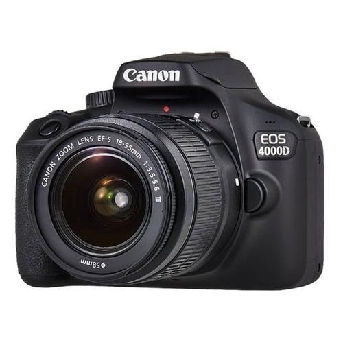 цена на Зеркальный фотоаппарат CANON EOS 4000D KIT kit ( 18-55mm f/3.5-5.6), черный