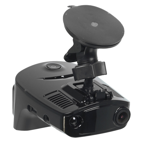 Видеорегистратор с радар-детектором Silverstone F1 HYBRID Evo S GPS черный видеорегистратор silverstone f1 hybrid uno a12 s