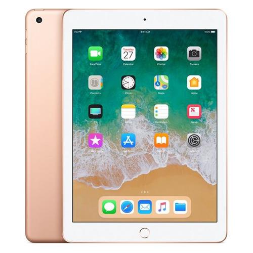 Планшет APPLE iPad 2018 32Gb Wi-Fi + Cellular MRM02RU/A, 2GB, 32GB, 3G, 4G, iOS золотистый планшет apple ipad 9 7 32gb wi fi cellular gold ios 10 a9 1840mhz 9 7 2048x1536 2048mb 32gb 4g lte 3g edge hsdpa hspa [mpg42ru a]