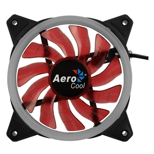 Вентилятор AEROCOOL Rev Red, 120мм, Ret вентилятор aerocool rev rgb 120мм ret