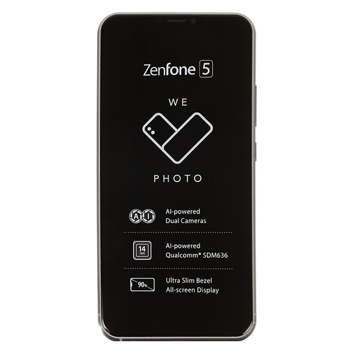 Смартфон ASUS Zenfone 5 64Gb, ZE620KL, серый смартфон asus zenfone 5 ze620kl 4 64gb midnight blue
