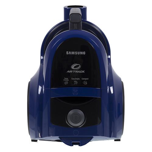 Пылесос SAMSUNG VCC4520S36, 1600Вт, синий цена и фото