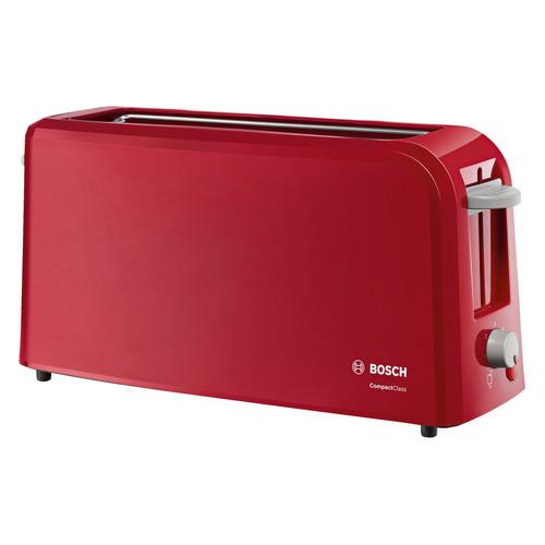 лучшая цена Тостер BOSCH TAT3A004, красный