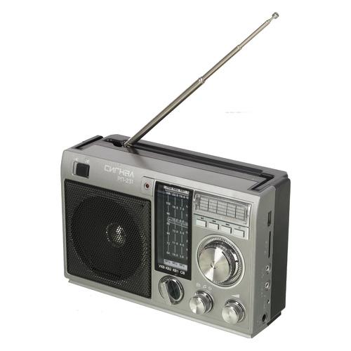 цена на Радиоприемник СИГНАЛ РП-231, черный