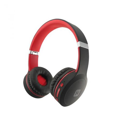 Наушники с микрофоном HARPER HB-409, 3.5 мм/Bluetooth, накладные, красный