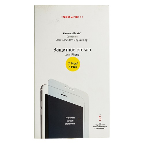 Защитное стекло для экрана REDLINE для Apple iPhone 7 Plus/8 Plus, прозрачная, 1 шт [ут000007950] promotion 5pcs embroidery cheap new bedding set for baby crib bed linen include bumper duvet bed cover bed skirt diaper bag