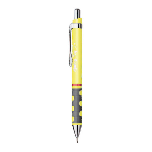 Фото - Упаковка карандашей механических ROTRING Tikky 2007220, 0.7мм, желтый 12 шт./кор. упаковка грифелей rotring tikky s0312700 1 0мм 10 шт кор
