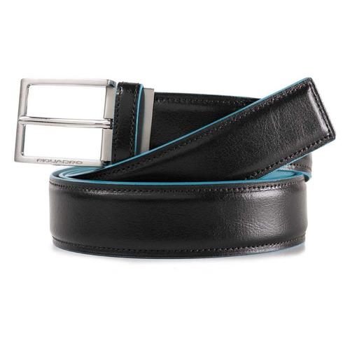 Ремень мужской Piquadro Blue Square CU4207B2/N черный натур.кожа дятел tucano мужские первый слой кожи автоматическая пряжка ремня бизнес случайный молодежь корейский брюки пояса wde7391a 89b0 черный