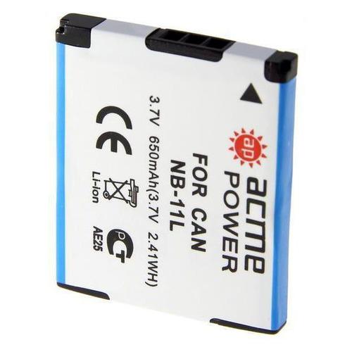 цена на Аккумулятор ACMEPOWER AP-NB-11L, 3.7В, 600мAч, для компактных камер и видеокамер
