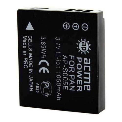 Аккумулятор ACMEPOWER AP-S005E, 3.7В, 1150мAч, для компактных камер и видеокамер аккумулятор acmepower ap blh7 li ion 7 2в 500мaч для компактных камер panasonic dmc gm1