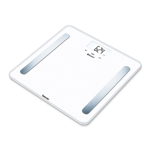 Напольные весы BEURER BF600 pure, до 180кг, цвет: белый [749.03]
