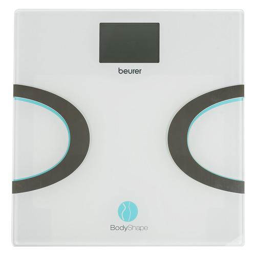 Напольные весы BEURER BF710, до 180кг, цвет: белый/бирюзовый [749.35] 749.35