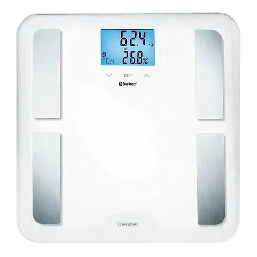 Напольные весы Beurer BF850, до 180кг, цвет: белый [748.24]