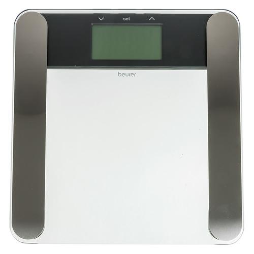 Напольные весы BEURER BF220, до 180кг, цвет: прозрачный [748.13]