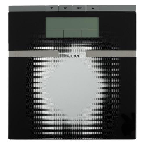 Напольные весы BEURER BG21, до 180кг, цвет: черный [764.30] BG21 по цене 1 400