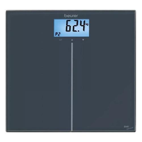 цена на Напольные весы BEURER GS280 BMI, до 180кг, цвет: черный [757.31]