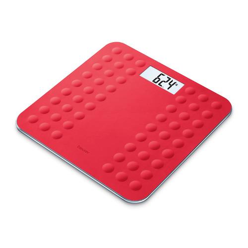 Напольные весы BEURER GS300, до 180кг, цвет: красный [756.07]