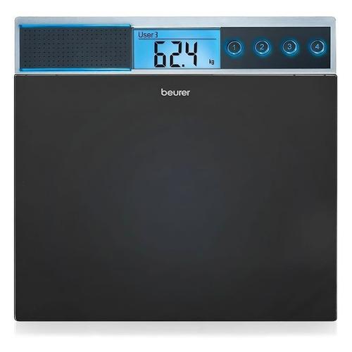 цена на Напольные весы BEURER GS39, до 150кг, цвет: черный [744.00]