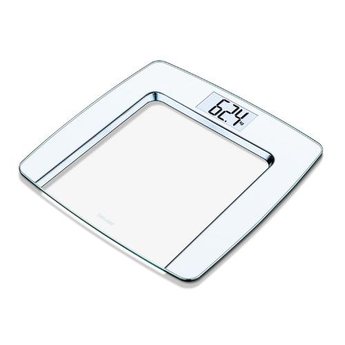 Напольные весы BEURER GS490, до 180кг, цвет: серебристый [756.67] напольные весы beurer gs300 до 180кг цвет красный [756 07]