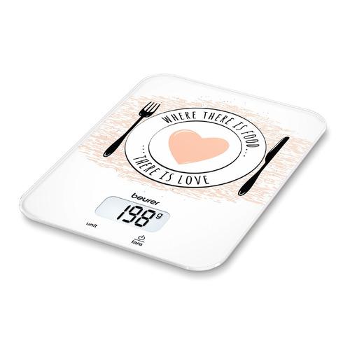 Фото - Весы кухонные BEURER KS19 Love, рисунок весы кухонные beurer ks19 sequence рисунок
