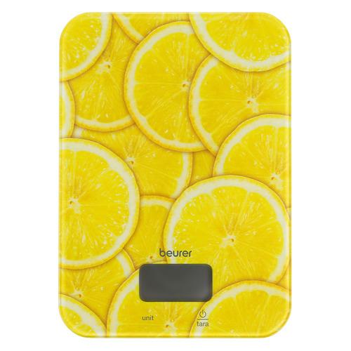 Фото - Весы кухонные BEURER KS19 lemon, рисунок весы кухонные beurer ks19 sequence рисунок