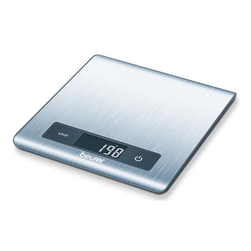 Весы кухонные BEURER KS51, серебристый eagle sye 918 электронные весы человеческого масштаба электронные весы для взвешивания весы бытовые подарки gentleman черный