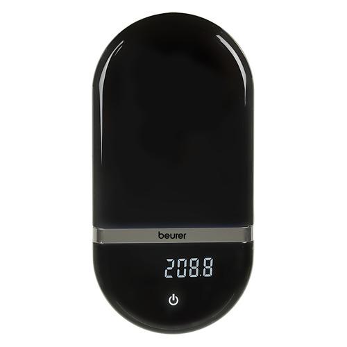 Весы кухонные BEURER KS36, черный eagle sye 918 электронные весы человеческого масштаба электронные весы для взвешивания весы бытовые подарки gentleman черный