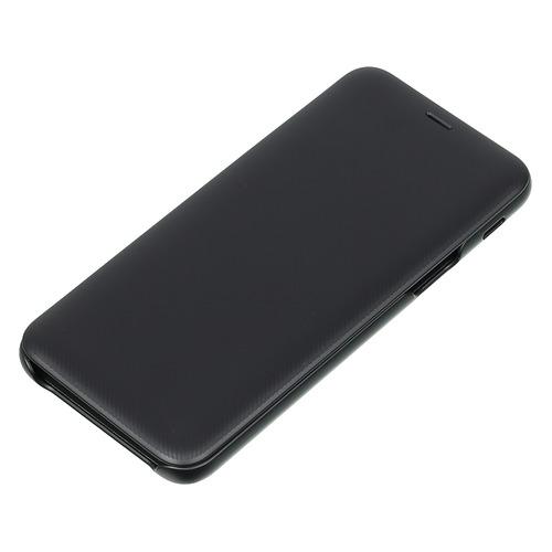Чехол (флип-кейс) SAMSUNG Wallet Cover, для Samsung Galaxy A6 (2018), черный [ef-wa600cbegru] стоимость