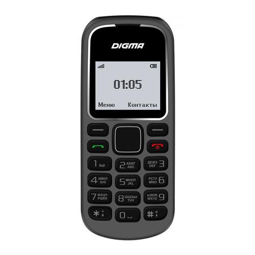 Мобильный телефон DIGMA A105 2G Linx, серый