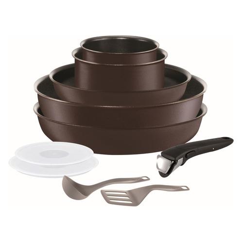 Набор посуды TEFAL Ingenio Chef L6559802, 10 предметов все цены