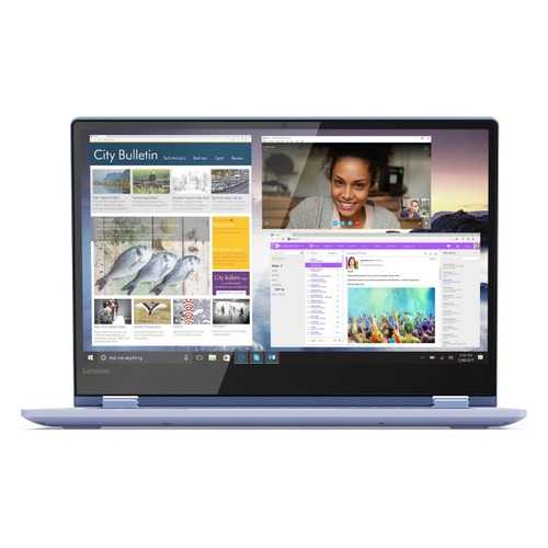 "Ноутбук LENOVO IdeaPad 530S-14IKB, 14"", IPS, Intel Core i3 8130U 2.2ГГц, 8Гб, 128Гб SSD, Intel UHD Graphics 620, Windows 10, 81EU00B8RU, синий  - купить со скидкой"