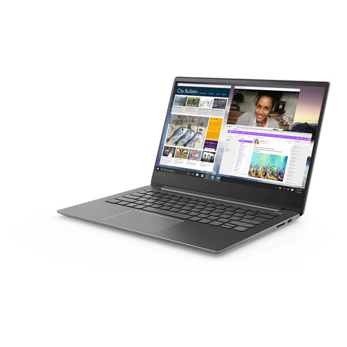 Ноутбук LENOVO IdeaPad 530S-14IKB, 14, IPS, Intel Core i7 8550U 1.8ГГц, 8Гб, 256Гб SSD, nVidia GeForce Mx150 - 2048 Мб, Windows 10, 81EU00BERU, черный ноутбук hp 14 ce0032ur 14 ips intel core i7 8550u 1 8ггц 16гб 1000гб 256гб ssd nvidia geforce mx150 4096 мб windows 10 4he86ea розовое золото