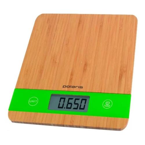 Весы кухонные POLARIS PKS 0545D, бамбук весы кухонные polaris pks 0545d bamboo