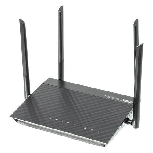Wi-Fi роутер ASUS RT-AC1200G+, черный