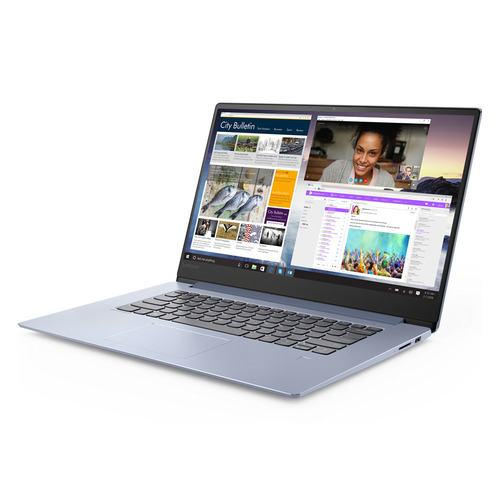 Ноутбук LENOVO IdeaPad 530S-15IKB, 15.6, IPS, Intel Core i7 8550U 1.8ГГц, 8Гб, 256Гб SSD, nVidia GeForce Mx150 - 2048 Мб, Windows 10, 81EV003YRU, синий ноутбук hp 14 ce0032ur 14 ips intel core i7 8550u 1 8ггц 16гб 1000гб 256гб ssd nvidia geforce mx150 4096 мб windows 10 4he86ea розовое золото