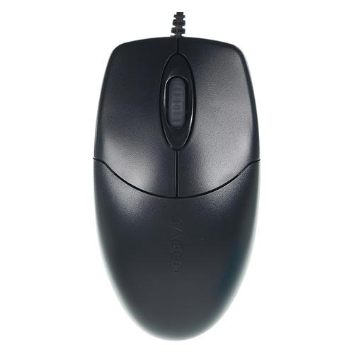 Мышь RAPOO N1020, оптическая, проводная, USB, черный rapoo x1800 usb black
