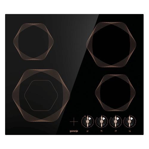 Варочная панель GORENJE EC642INB, электрическая, независимая, черный цена и фото
