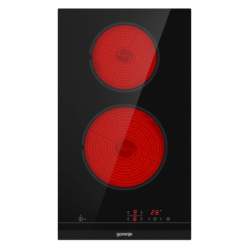 Варочная панель GORENJE ECT321BCSC, электрическая, независимая, черный цена и фото