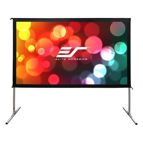 Экран ELITE SCREENS Yard Master OMS135H2, 299х168 см, 16:9, переносной(мобильный) экран elite screens spectrum electric100h 222х125 см 16 9 настенно потолочный черный