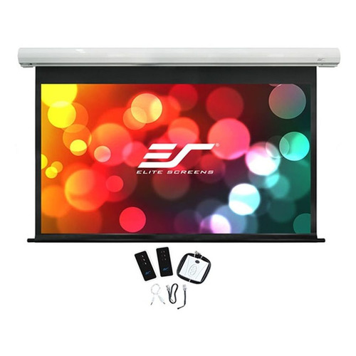Экран ELITE SCREENS Saker electric SK100XHW-E12, 222х125 см, 16:9, настенно-потолочный elite screens zr110wh1 a1080