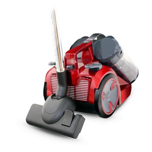 Пылесос GINZZU VS439, 2000Вт, серый/красный пылесос redmond rv 327 2000вт красный серый