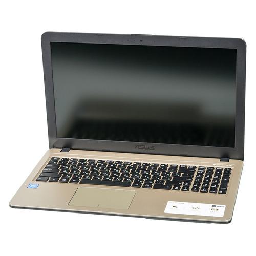 "Ноутбук ASUS VivoBook X540NA-GQ005, 15.6"", Intel Celeron N3350 1.1ГГц, 4Гб, 500Гб, Intel HD Graphics интегрированное, Endless, 90NB0HG1-M04350, черный цена и фото"