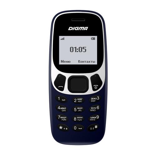 Мобильный телефон DIGMA A105N 2G Linx, темно-синий